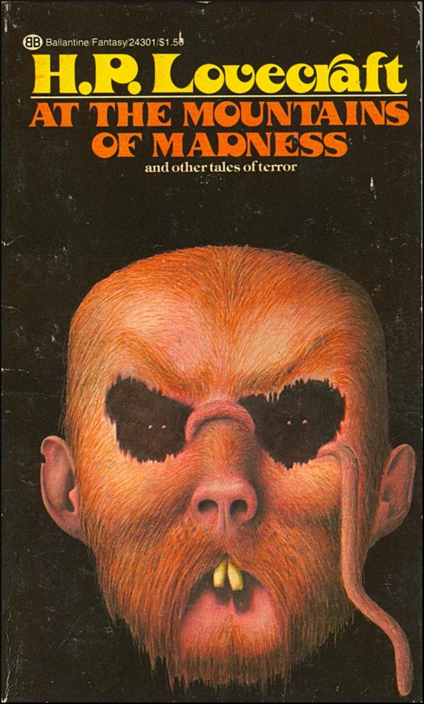 John Holmes' H P  Lovecraft Cover Art (Ballantine, 1973