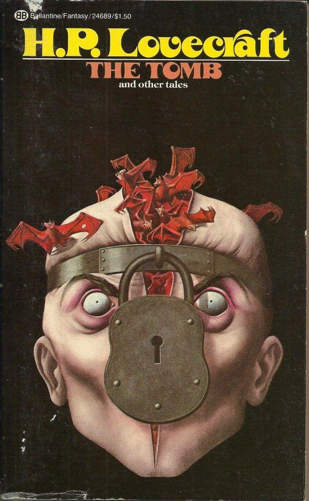 John Holmes H P Lovecraft Cover Art Ballantine 1973