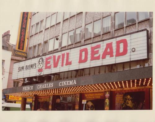 Marquee Evil Dead 1983-1