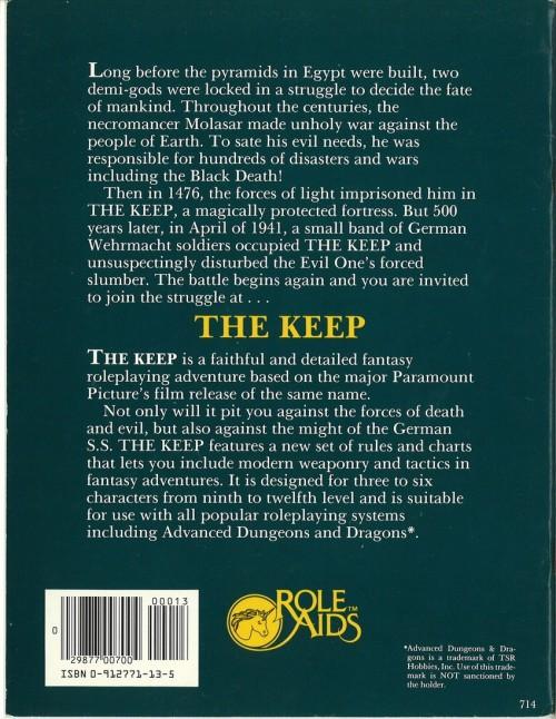 The Keep Module 1983-2