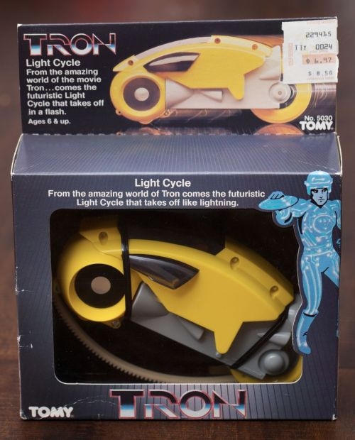 Tron Cycle 1982-1
