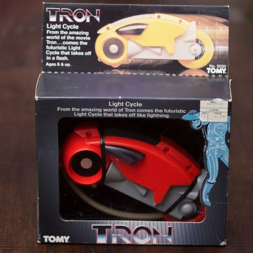 Tron Cycle 1982-5