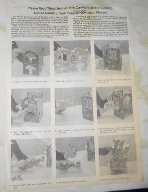 AD&D Castle 1983-4