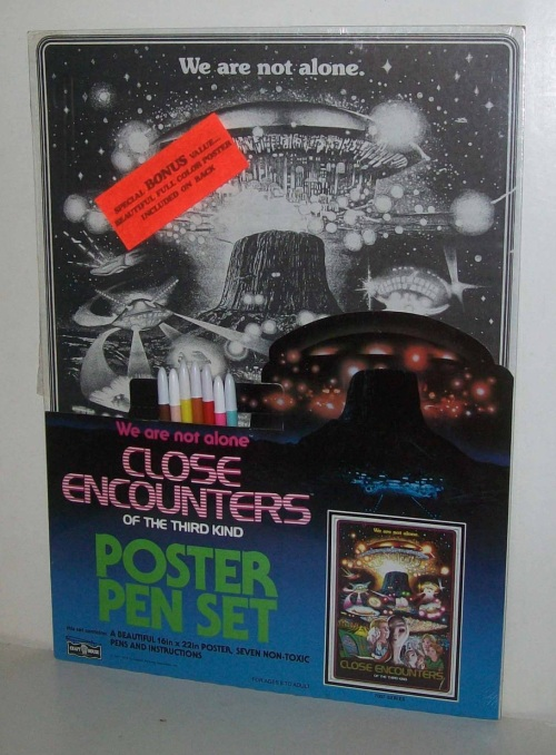 Close Encounters Poster Pen 1978