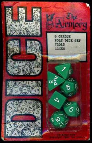Dice Armory 1983-4