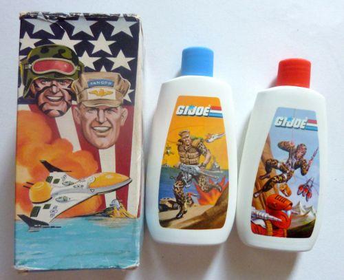 G.I. Joe Shampoo 1988-1
