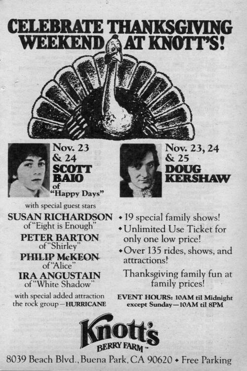 Thanksgiving 1979
