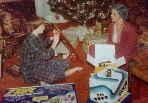 Christmas 1970s Pong