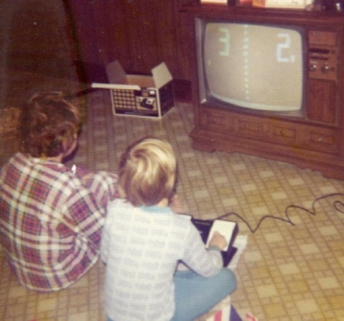 Christmas 1975 Pong