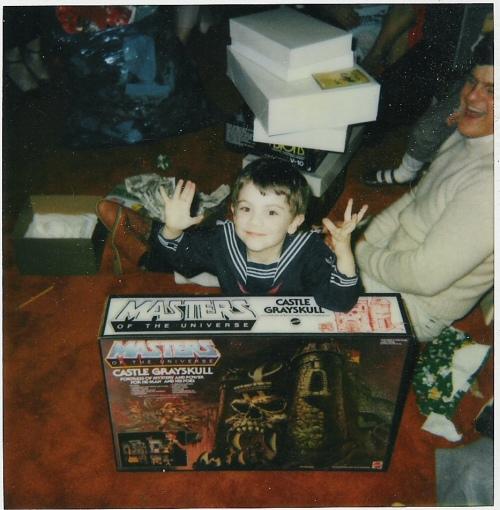 Christmas 1983 Grayskull