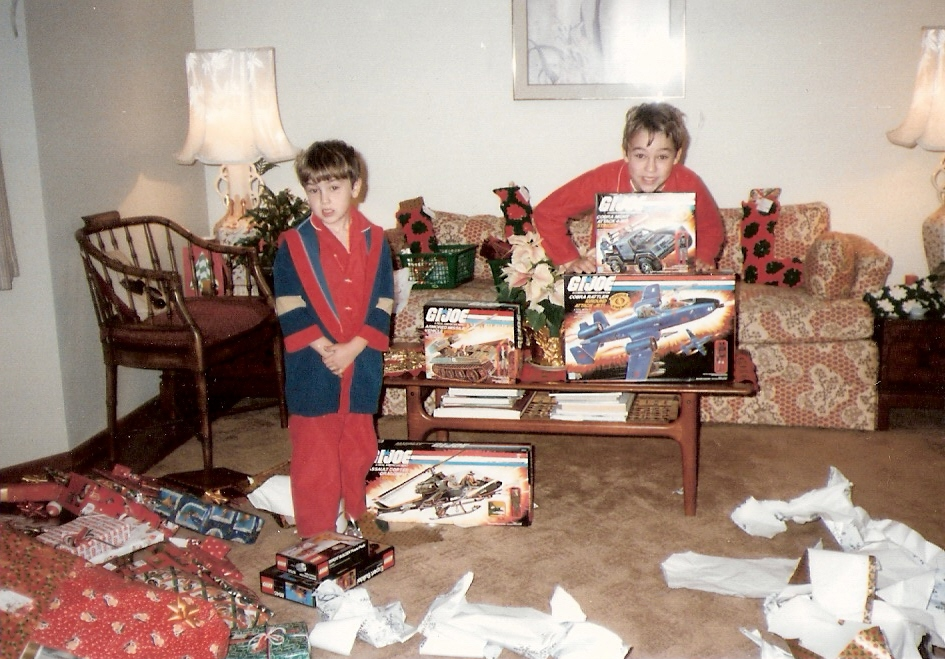 1984 Toys For Girls : Christmas morning warps to neptune page