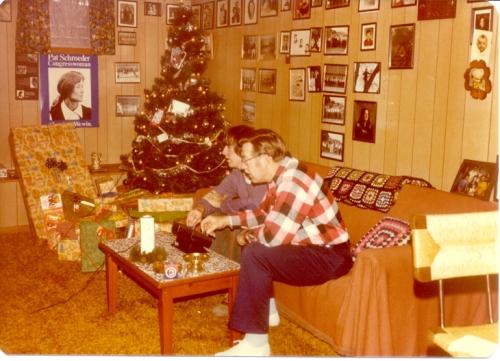 Christmas Pong 1976