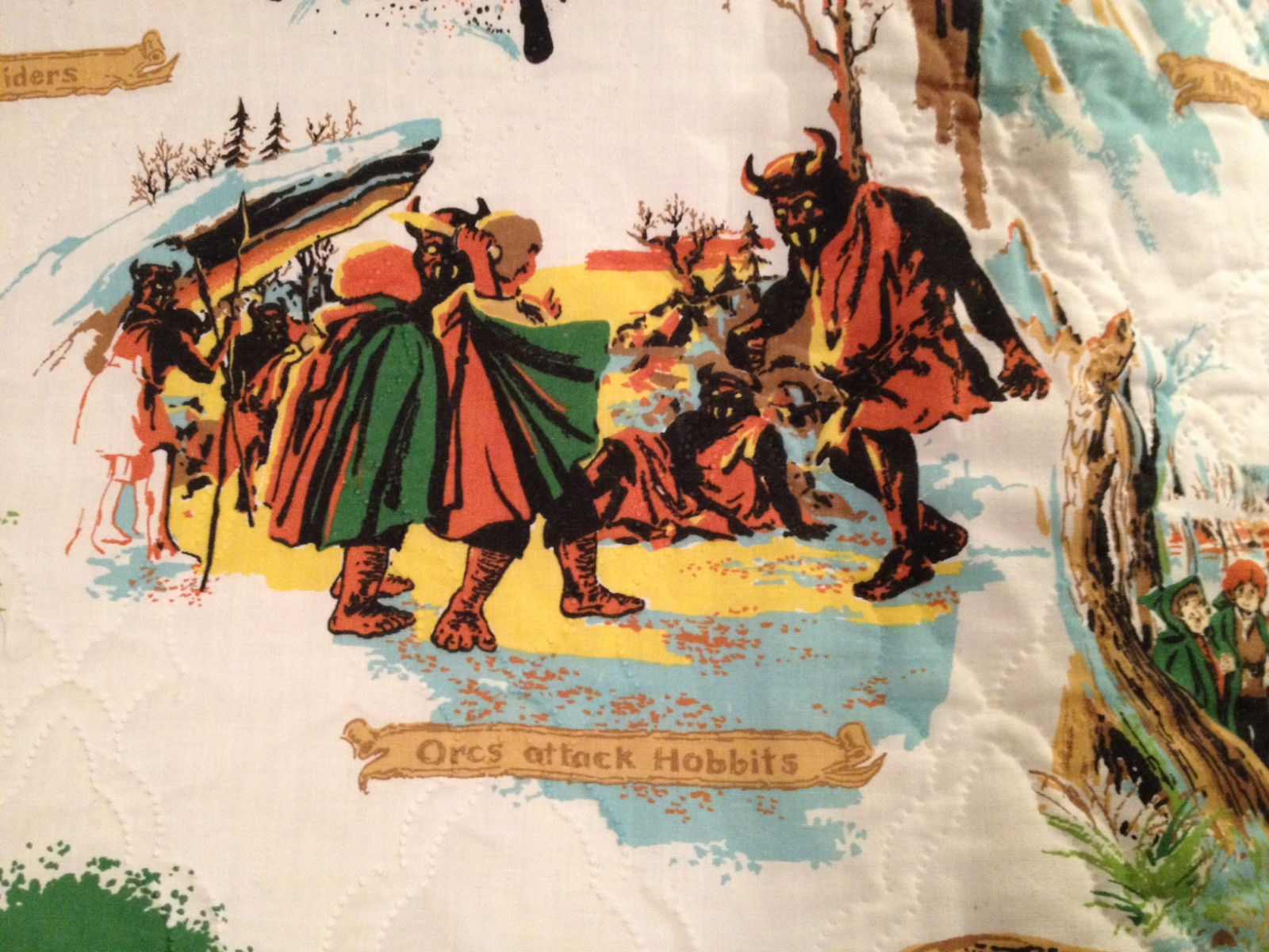 the lord of the rings comforter tolkien enterprises