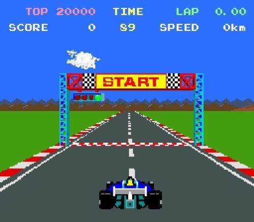 Pole Position Start