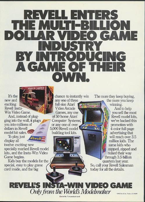 Revell Atari 1982