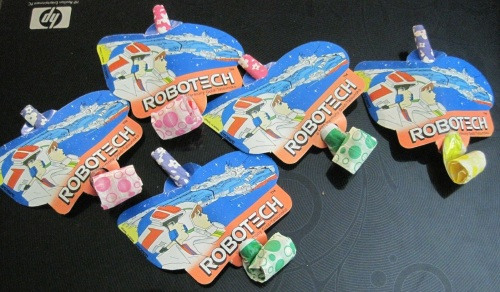 Robotech Party Favors 1985-2