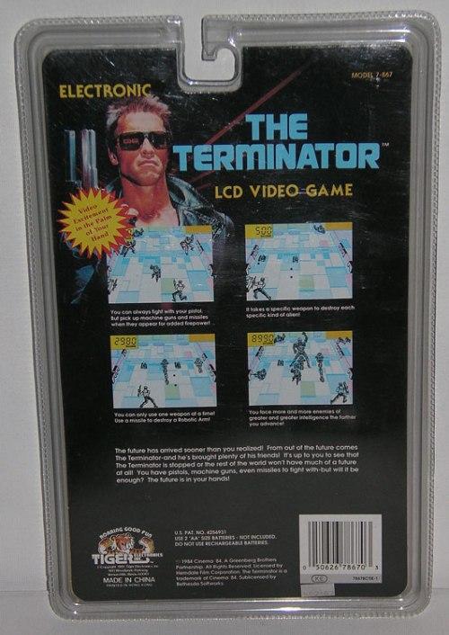 Terminator LCD 1984-2