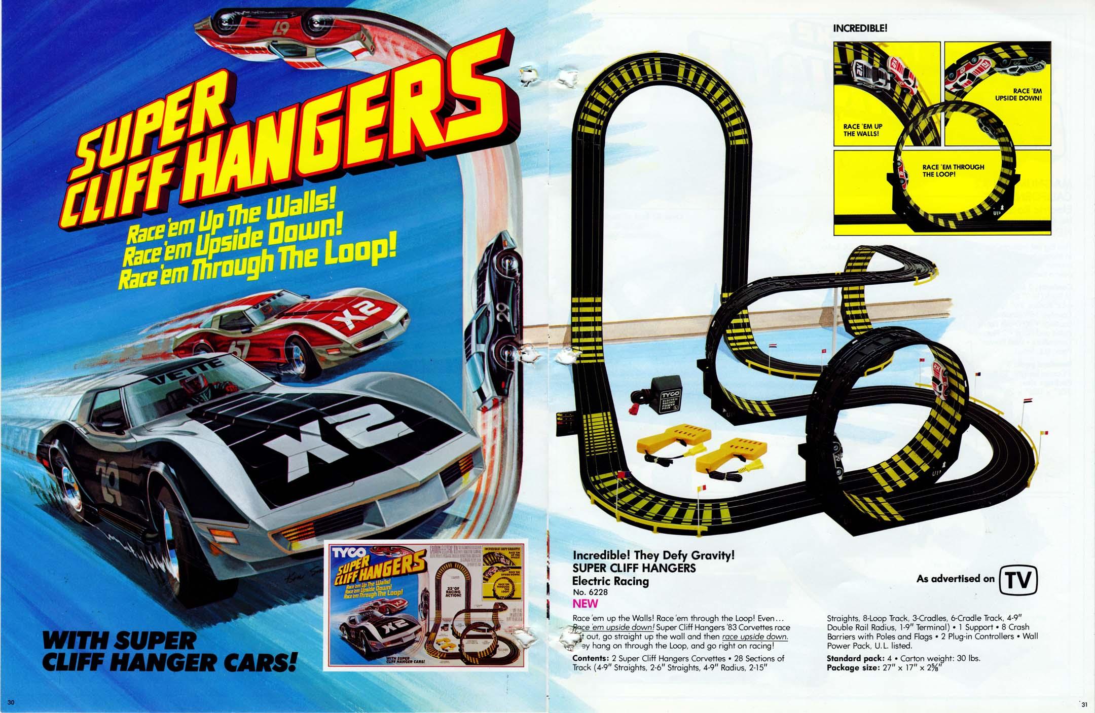 Cliffhangers Race Cars
