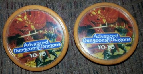 AD&D Yo Yo 1983-1