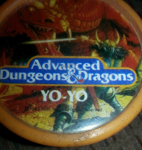 AD&D Yo Yo 1983-4