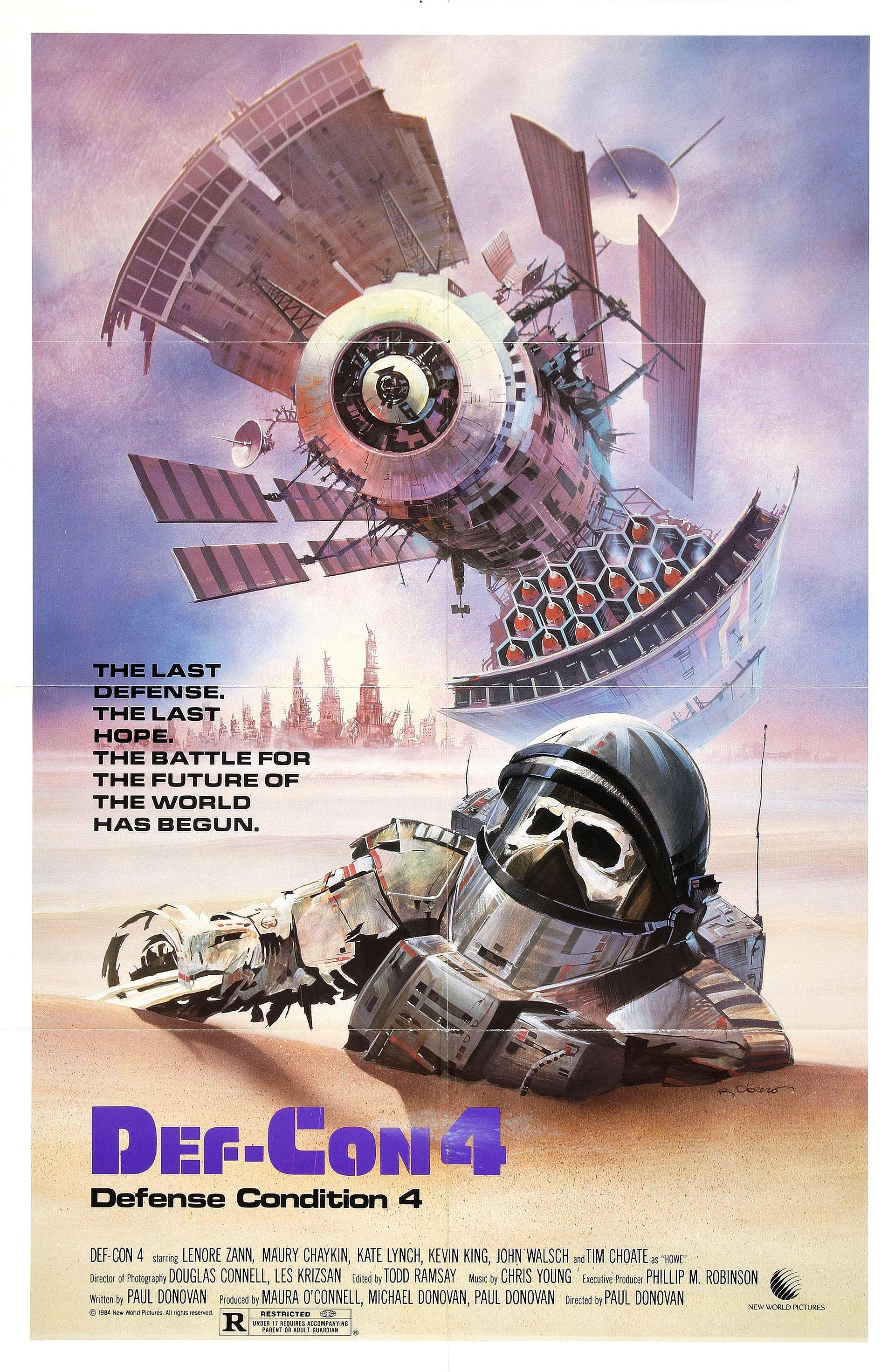 Movie Posters Def Con 4 1984 2 Warps To Neptune