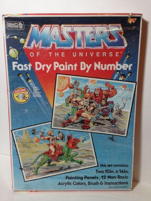 MOTU Paint 1983-1