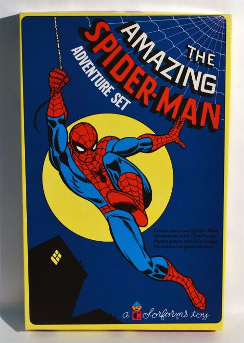 Spidey Colorforms 1974-1