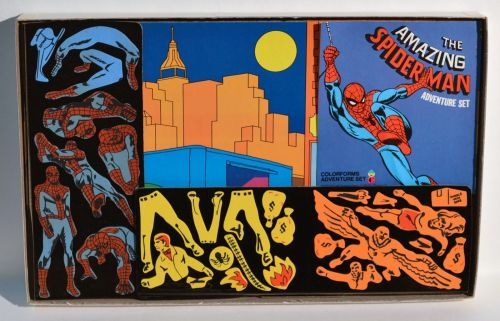 Spidey Colorforms 1974-2