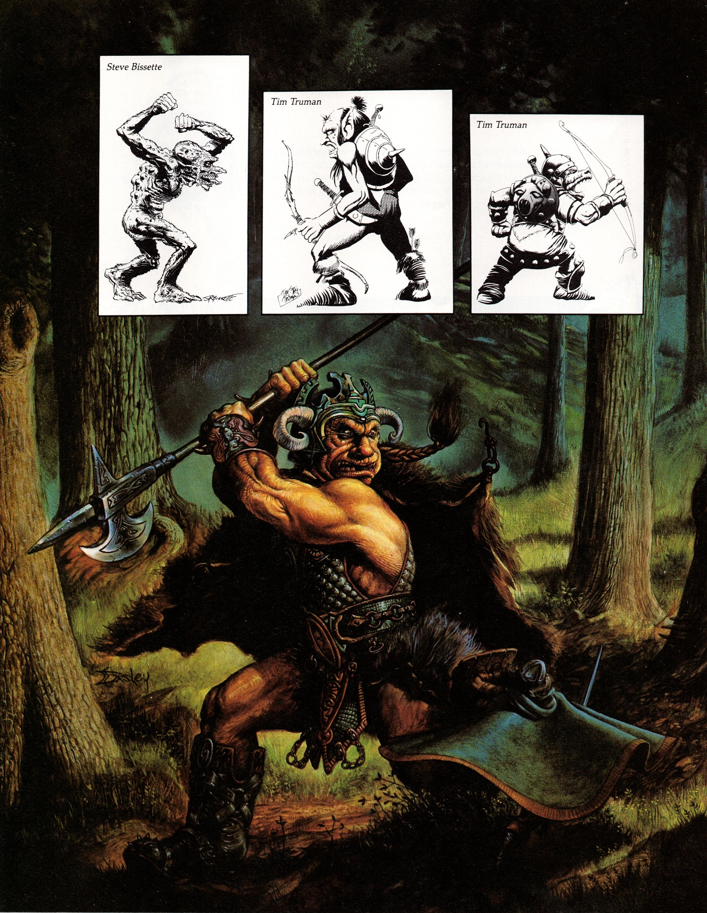 Fantasy art dungeons and dragons consider