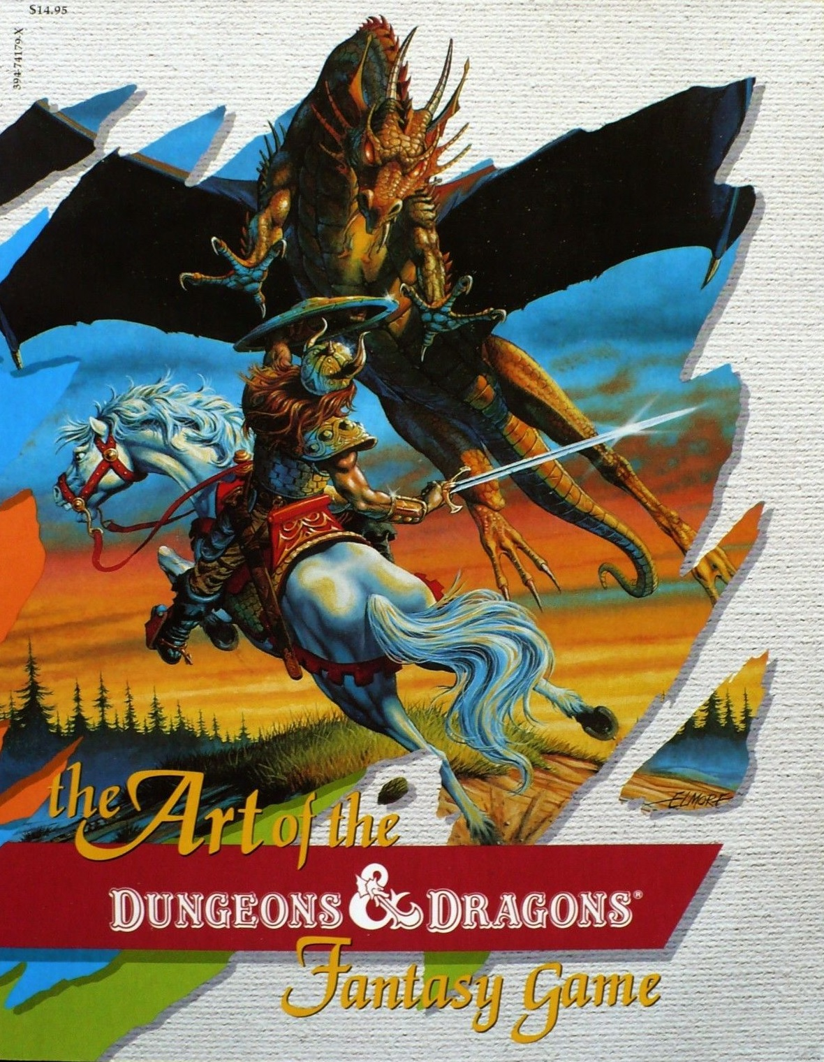 Can discussed fantasy art dungeons and dragons