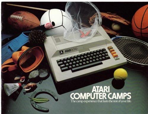Camp Atari-Brochure-1982 1