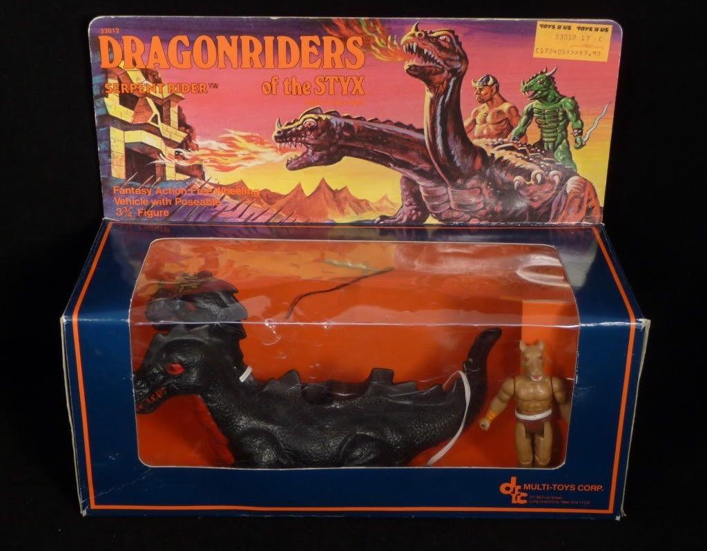 Dragonriders of the Styx Fantar Card Back 1982
