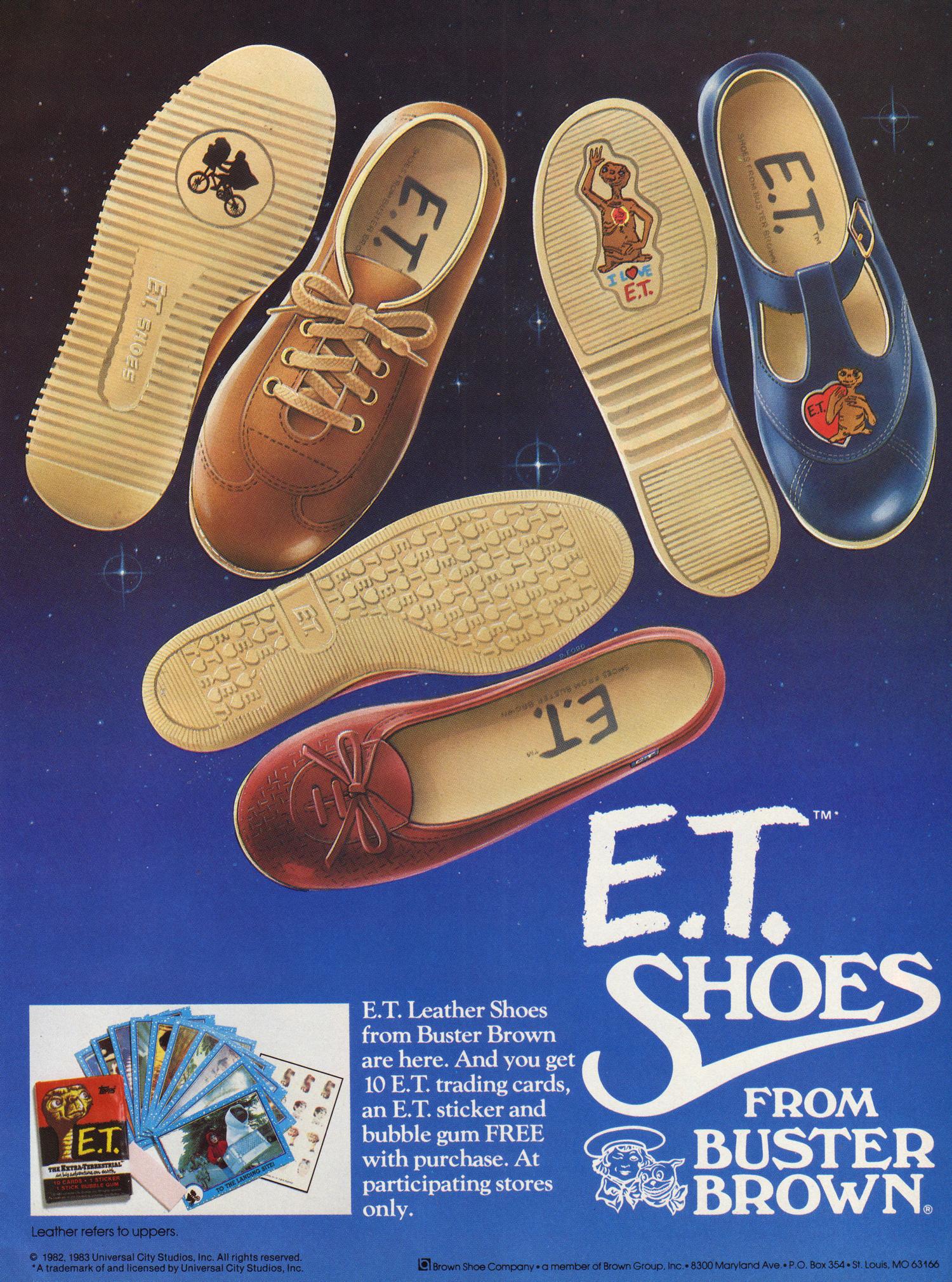 Dukes roller shoes - E T Shoes 1982