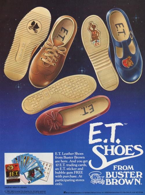 E.T. Shoes 1982