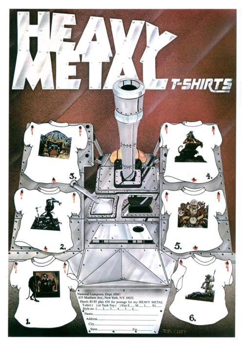 Heavy Metal Ad 1977