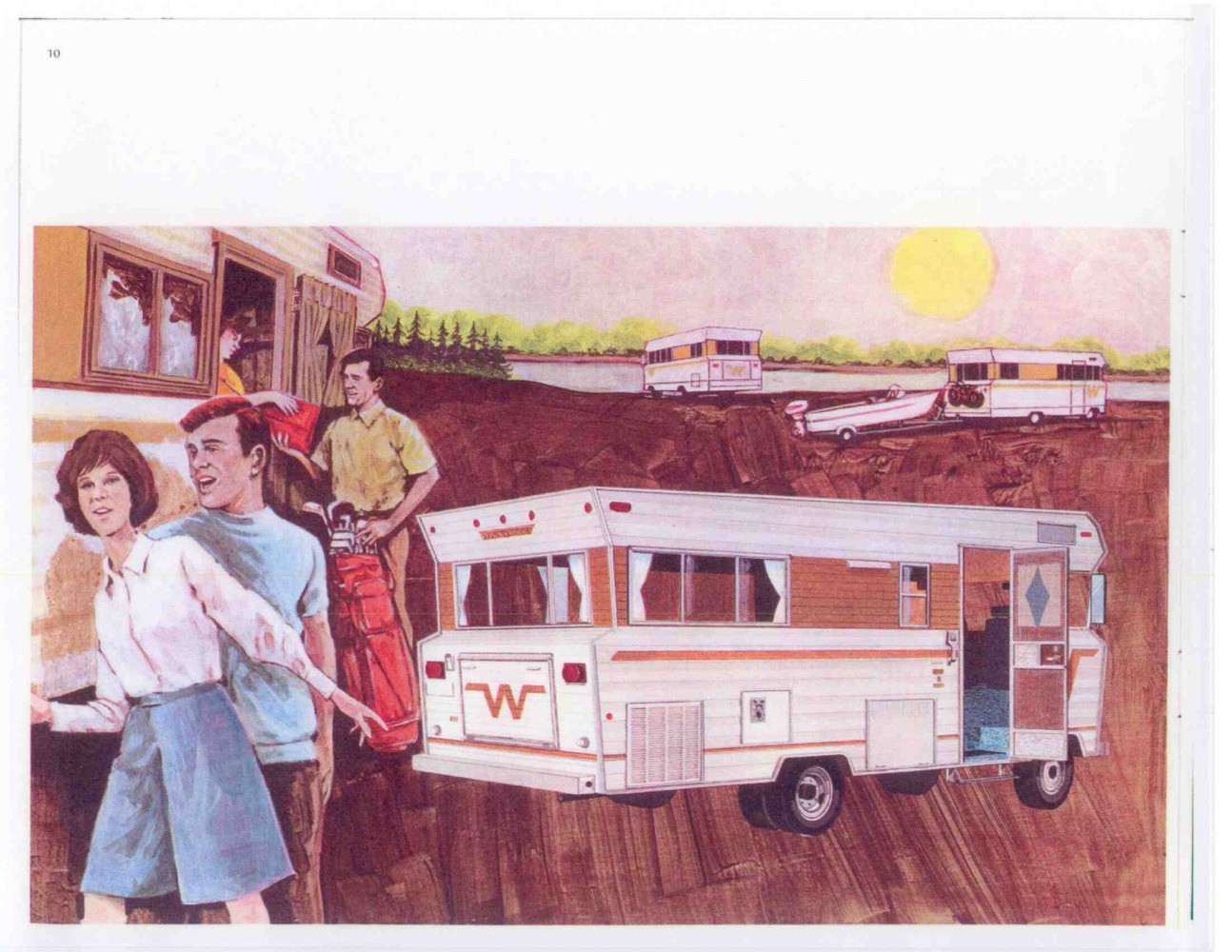 Winnebago Sales Brochure, 1969: 'For People Who Love to Live