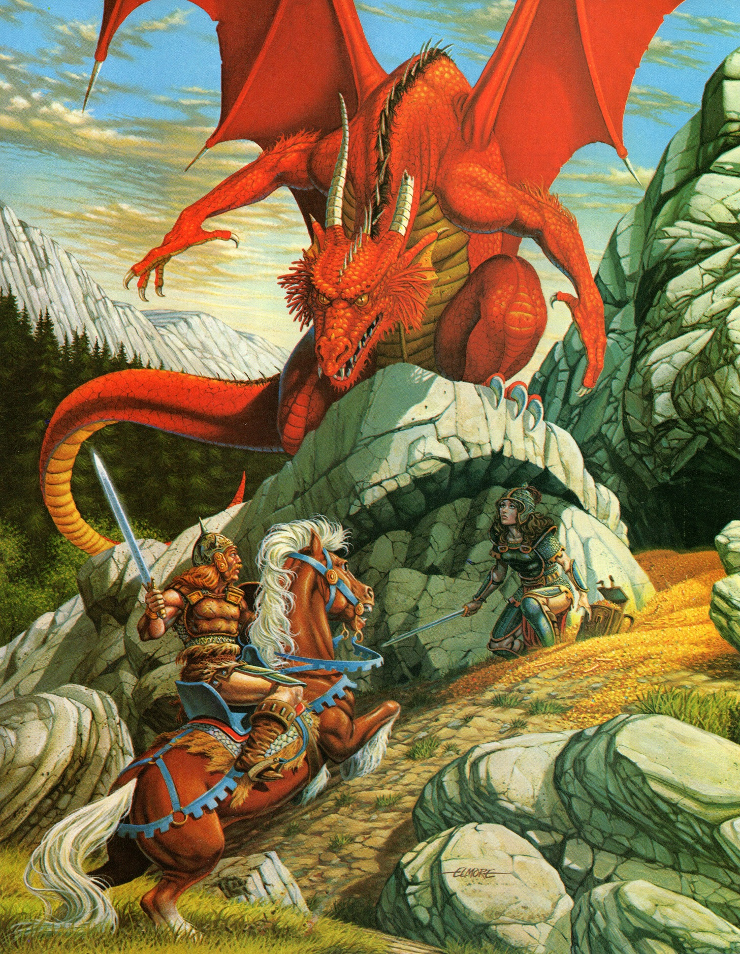 The Art of the Dungeons and Dragons Fantasy Game by ...