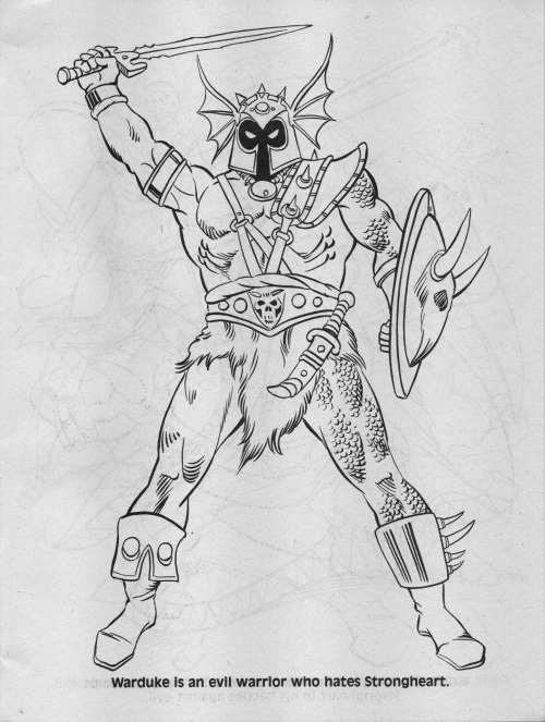 Advanced Dungeons & Dragons Coloring Book: The Crown of