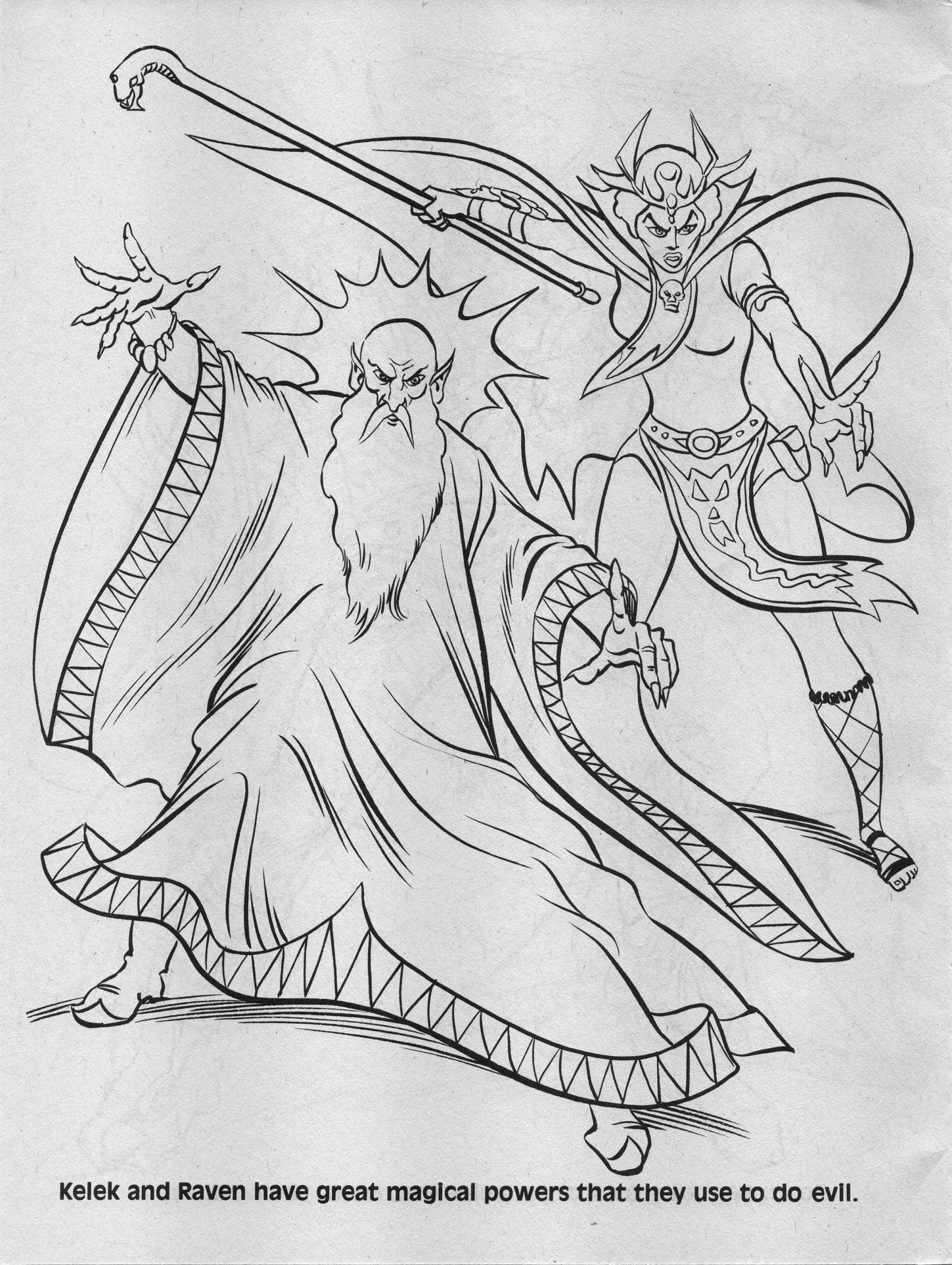 Dungeons And Dragons Elf Coloring Pages Printable Sketch
