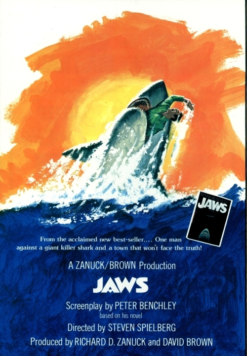 Jaws Poster 1974