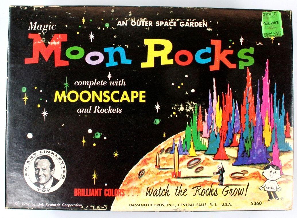 Magic moon rocks an outer space garden hasbro 1959 2 for Outer space gardens
