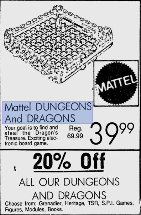 Mattel 1981
