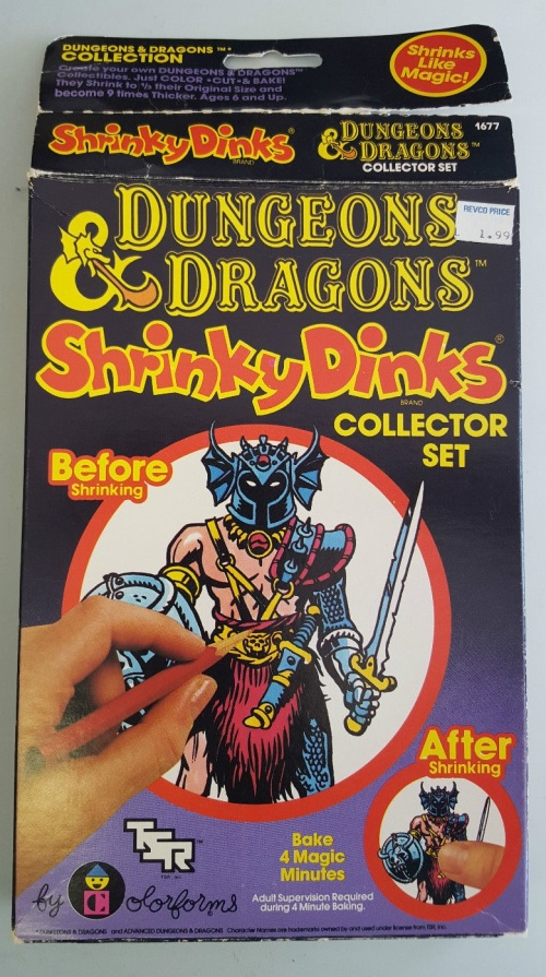 D&D Shrinky 1983-1