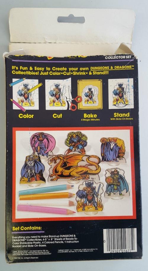D&D Shrinky 1983-2