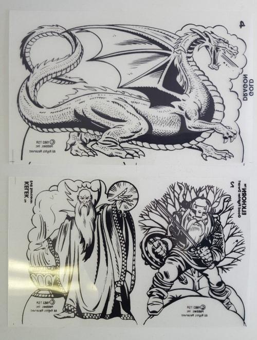 D&D Shrinky 1983-4