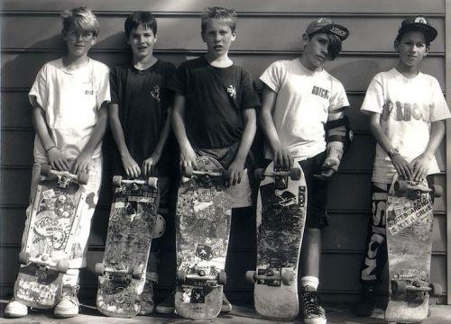 Skaters 1987