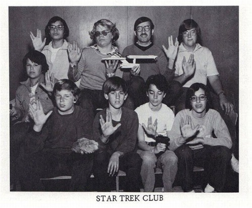 Star trek Club 1978