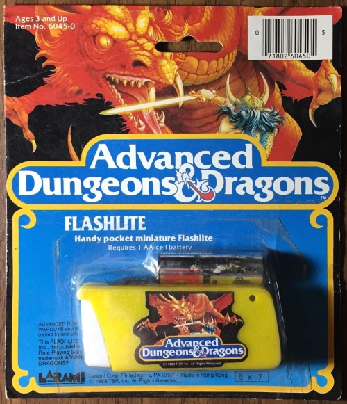 AD&D Flashlight 1983-3