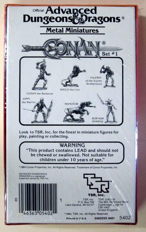 AD&D Minis 1984-2