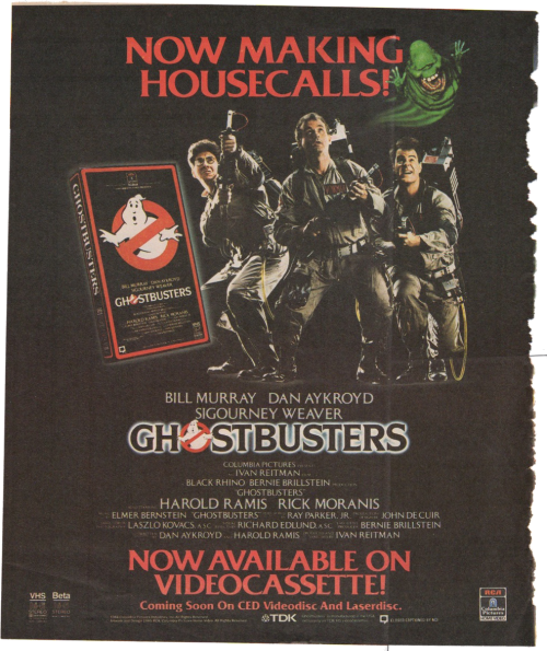 Ghostbusters 1985
